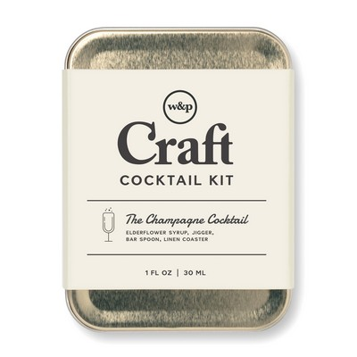 W&P Virtual Happy Hour Cocktail Kit - Champagne - Gold